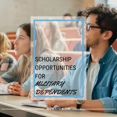WSRA Blog 2020 Scholarship Opportunities for Military Dependents