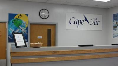 Cape Air Ticket Counter